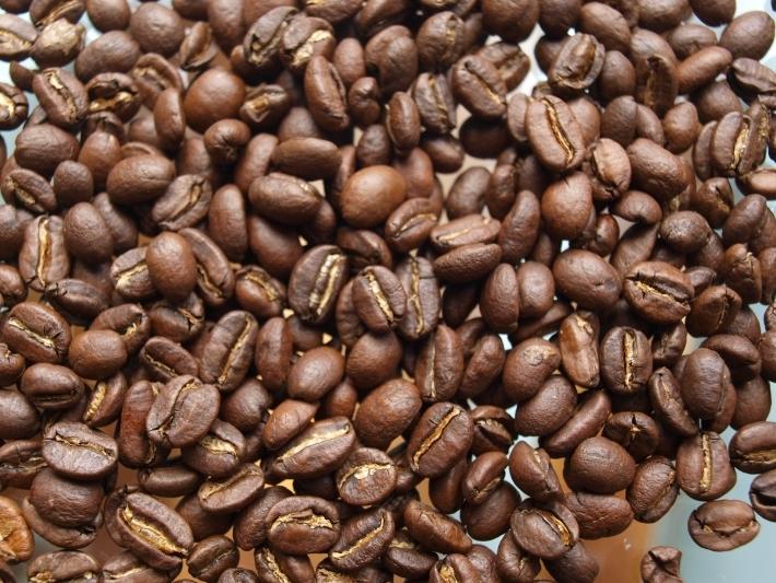 Kaffeebohne geröstet